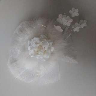 White fur flower