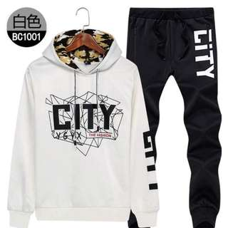 Hoody and pants  S to 4xl