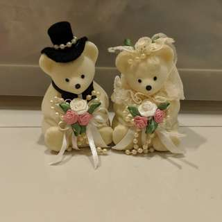 Wedding Bears Ring Holders