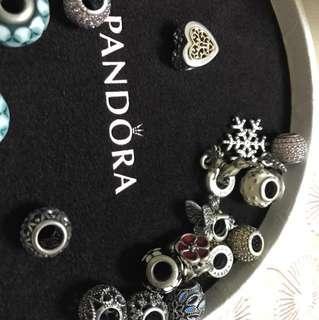 100% authentic Pandora charms