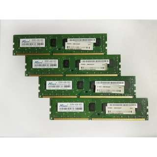 4x Asint DDR3 4gb - 1600mhz (Total 16gb)