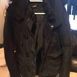 SLY black jacket 外套 大衣