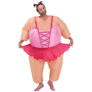 Inflatable ballerina costume for rent