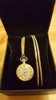 70年代 TISSOT K金頸鏈陀錶