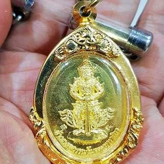 Phra Taowessuwan with Takrud. Wat Dornkaew, Ajarn Odd.
