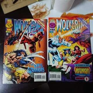 Wolverine #103 & 104 Vol . 1