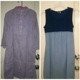 Take all 5 Maternity dress / blouses