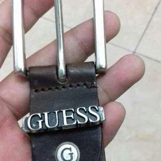 Brown Guess belt