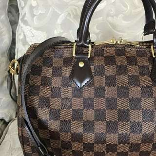 Louis Vuitton Speedy Bandouliere Ebene 30
