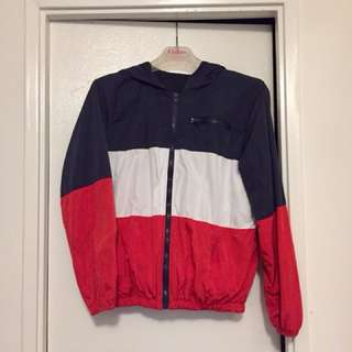Colourblock Windbreaker from Brandy Melville