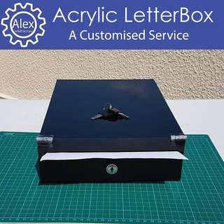 Acrylic Letter Box - DIY & Customize for Home / Office / School Projects, and more!