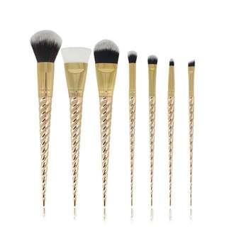 Gold Unicorn Brushes