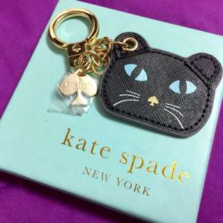 Kate Spade Cat & Mouse Keychain