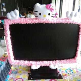 Bando / Sarung / Cover TV Monitor LCD LED Hello Kitty