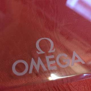 OMEGA 透明 阿加力膠片 陳列展示板 60x25x2cm