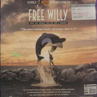 Laser Disc Movie - Free Willy