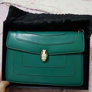 Bvlgari Serpenti Emerald Colour-Repriced