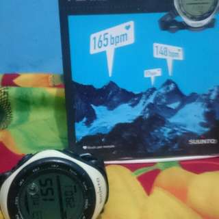 For sale Suunto vector with HR white