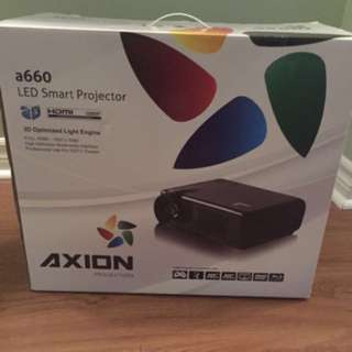 Axion a660 LED smart projector