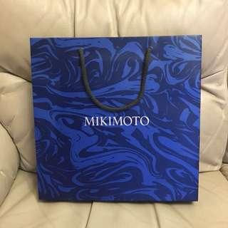 Mikimoto Paper bag