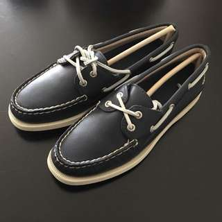 New Sperry Top Sider Navy Blue Size 6