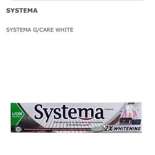 Systema 2x Wgitening tooth paste 130g