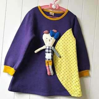 DODO HOUSE 女童刷毛衣