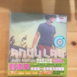Brand new sealed Andy Lau cd