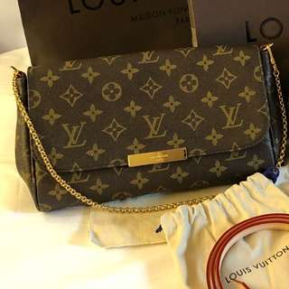 Authentic grade Louis Vuitton Favorite Monogram MM