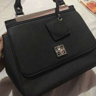 Black Satchel Bag (Brand New)