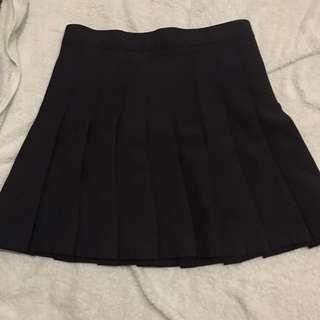Black Tennis Skirt lol