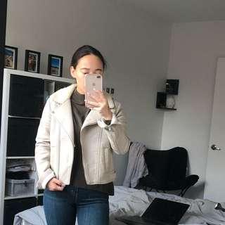 H&M Faux Leather Moto Jacket