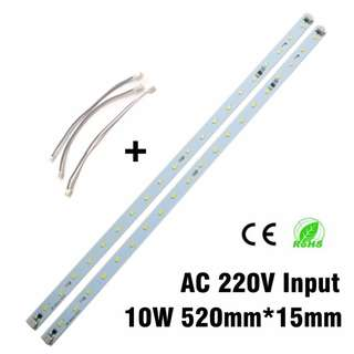 LED Light Bar Strip Driverless Direct AC  180-260v 10w T8 T4 tube light replacement