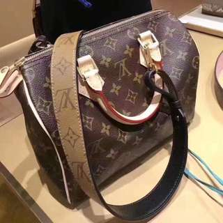 Authentic LV Speedy 25 with Shoulder Strap