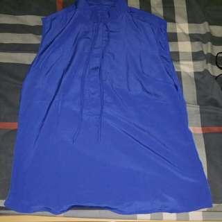 Atasan Biru like new