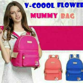 V-COOOL FLOWER MUMMY BAG