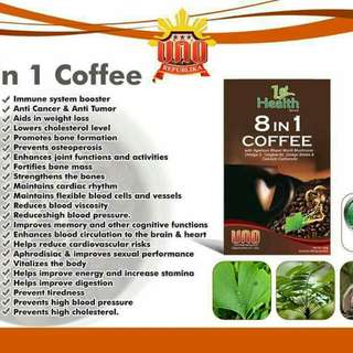 8 in 1 Coffee with natural herbal