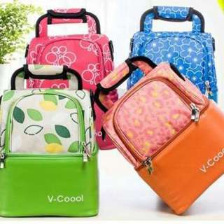 V-COOOL FLORAL COOLER BAG