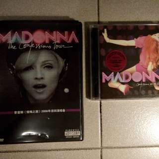 Madonna DVDs & CDs Part 2