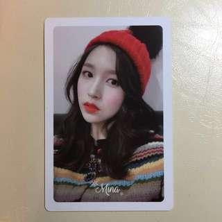 Twice Mina m&h小卡