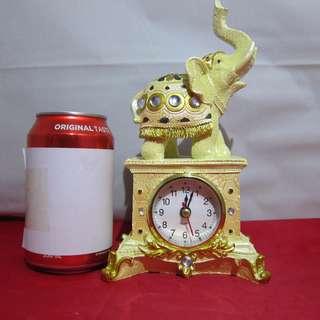 迪華【夜冷區】❤ 古典小象鐘擺設 ❤ 外貿餘貨 最後一件 送禮自用