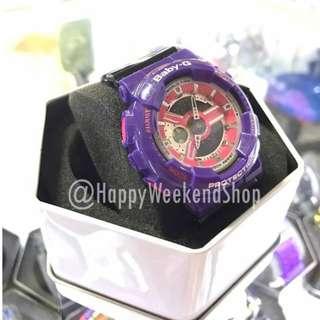 Baby G BA110 OEM - Barney Purple