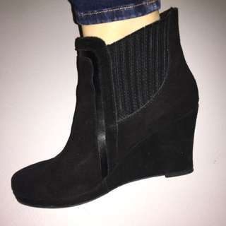 DOLCE VITA Suede Boots-SIZE 8.5