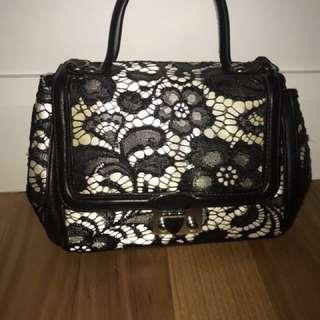 Alannah Hill lace handbag