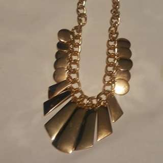 Egyptian gold necklace