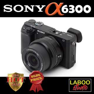 Sony A6300 (kit) *FREE Original Battery