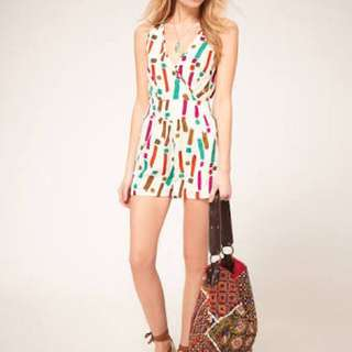 ASOS exclusive play suit