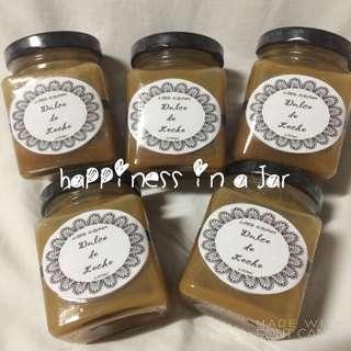 Dulce de leche (happiness in a jar)