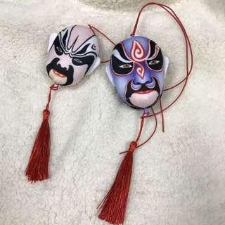 面具汽車掛飾