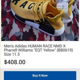 ADIDAS HUMAN RACE BY PHARELL WILLIAMS